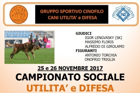 Secondo trofeo Team Working Dog